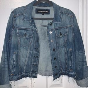 EXPRESS CROPPED JEAN JACKET